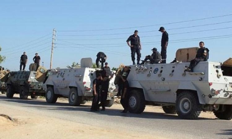 استشهاد ضابط وإصابة 3 مجندين في انفجار استهدف مدرعة بالعريش