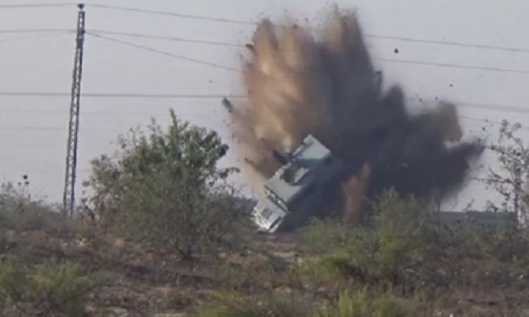 مقتل ضابط وإصابة 3 مجندين إثر انفجار عبوتين ناسفتين فى مدرعة شرطة بالعريش