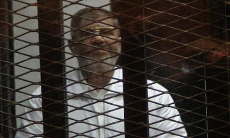 """تأجيل محاكمة مرسى فى """"التخابر مع قطر"""" لـ3 مارس"""