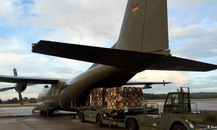 القوات المسلحة الألمانية ترسل إمدادات عسكرية إلى كردستان العراق