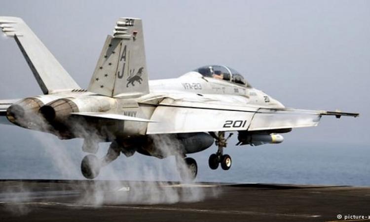 """قصف جوي يستهدف مقاتلي """"داعش"""" في سورية"""