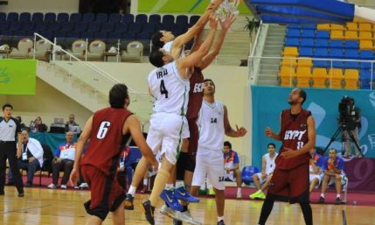 مصر تخرج بخمس هزائم من الدور الأول فى مونديال السلة