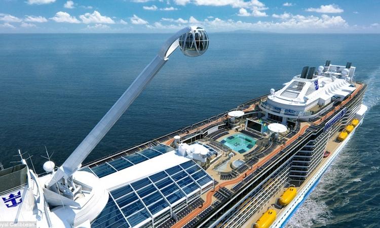 بالصور.. شاهد مالم تراه فى حياتك.. سفينة المستقبل الذكية التى ستبحر فى نوفمبر