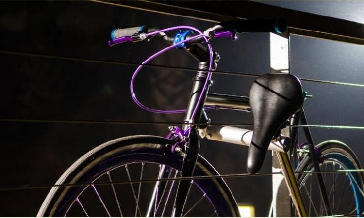 بالصور.. أول دراجة غير قابلة للسرقة