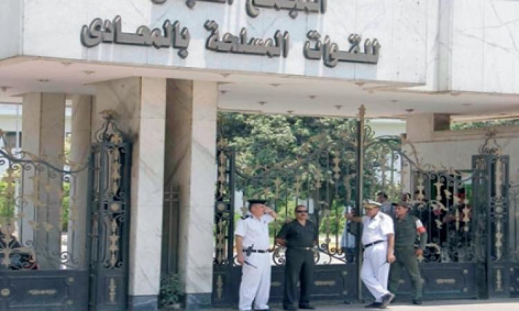 تشديدات أمنية أمام مستشفى المعادى قبل بدء محاكمة مبارك
