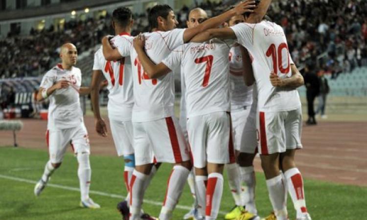 تونس تسجل في مصر بعد الدقيقة 14 من الشوط الاول