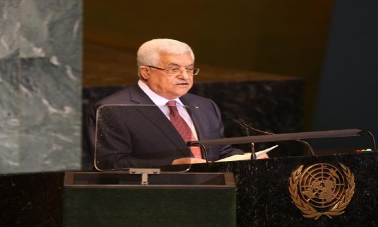 """واشنطن: كلمة """"عباس"""" بالأمم المتحدة """"عدائية"""""""