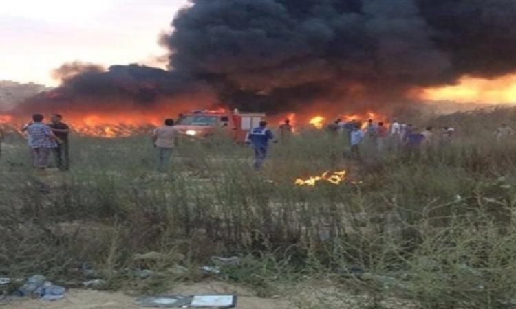 سقوط طائرة حربية ليبية بعد مشاركتها في حفل تأبين بطبرق