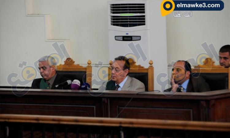 """بالصور.. جلسة محاكمة قضية """"أحداث شغب الأزبكية"""""""