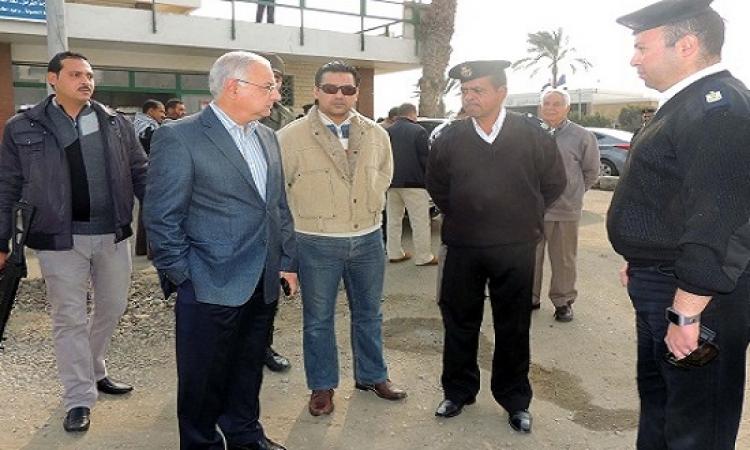 انتشار قوات الشرطة والجيش بميادين السويس ونفق أحمد حمدي