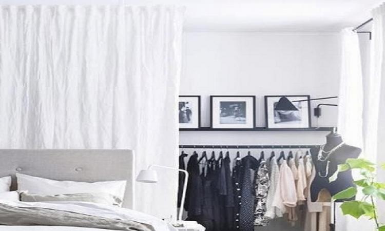 بالصور..تصميمات لخزانات ملابس ذكية و موفرة