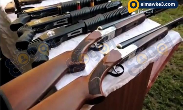 بالفيديو.. أمن أسكندرية يضبط كمية كبيرة من الأسلحة النارية والمخدرات