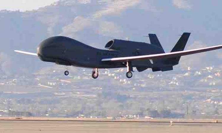 """وجود طائرة من دون طيار فوق مناطق """" داعش """"في حلب"""