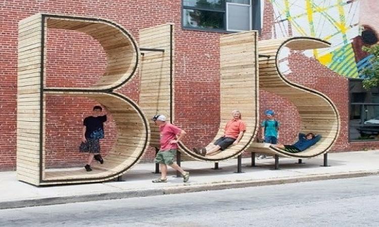 شاهد بالصور .. تصميمات غريبة ومبتكرة لمحطات الحافلات بالعالم