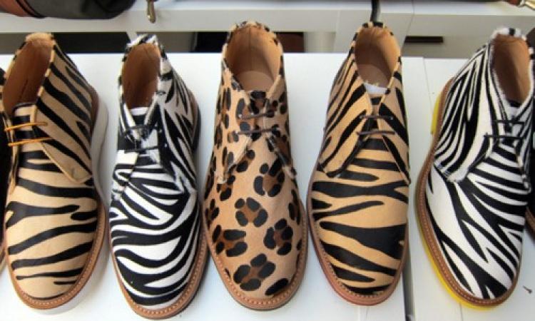 بالصور .. جلد النمر نجم موضة الأحذية