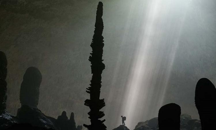 بالصور .. جولة مثيرة داخل أكبر كهف في العالم