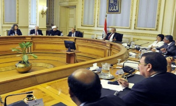 مجلس الوزراء يوافق على تعديل قانون الرى والصرف وحماية نهر النيل
