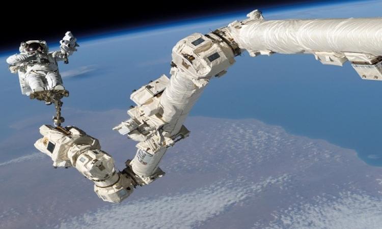 رواد محطة الفضاء الدولية يقوم بثالث مهمة سير خلال 3 أسابيع