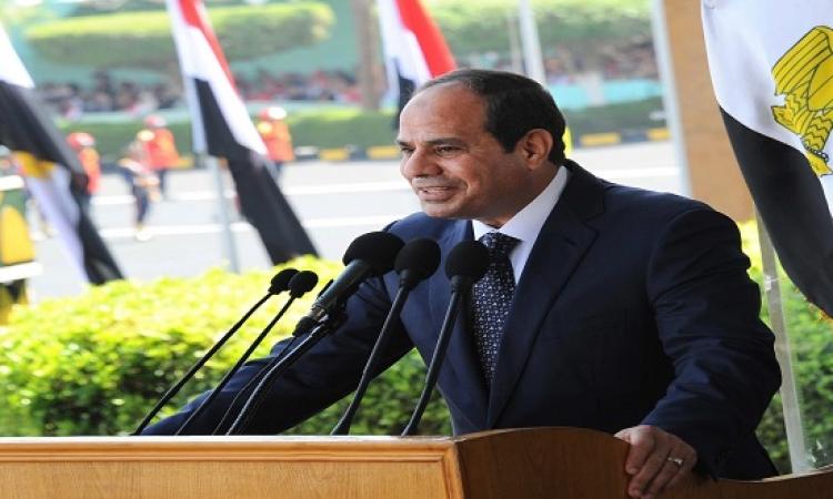 الرئيس السيسى يشهد اليوم الاحتفال بتخريج دفعة جديدة من كلية الشرطة