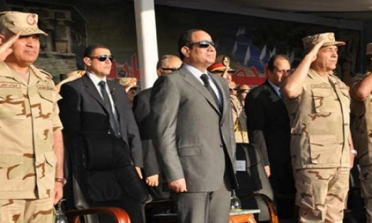الرئيس السيسي يشهد إحتفالات القوات المسلحة بإنتصارات أكتوبر