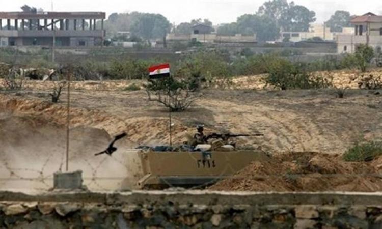 الجيش : بدأ تنفيذ خطة إزالة المنازل على الشريط الحدودى مع قطاع غزة