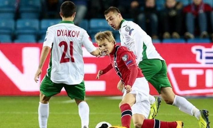 النرويجي أوديجارد أصغر لاعب يشارك في مباراة أوروبية رسمية