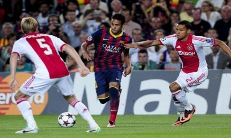 برشلونة يستعد للكلاسيكو بفوز سهل على أياكس في دورى الأبطال