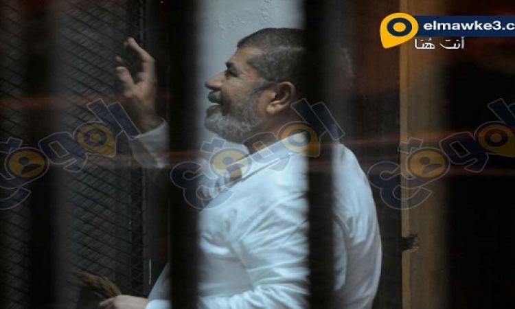 بالصور .. تأجيل محاكمة مرسى وقيادات الإخوان فى قضية أحداث الأتحادية ل1 نوفمبر