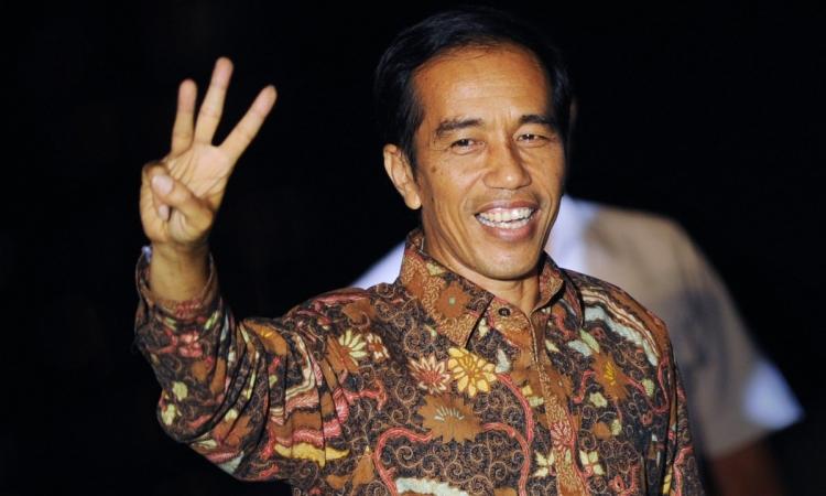"""""""جوكو ويدودو"""" يؤدى اليمين الدستورية كرئيسًا لأندونيسيا"""