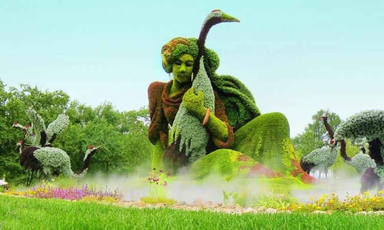 بالصور .. حدائق مونتريال البديعة .. كأنك مع أليس في بلاد العجائب