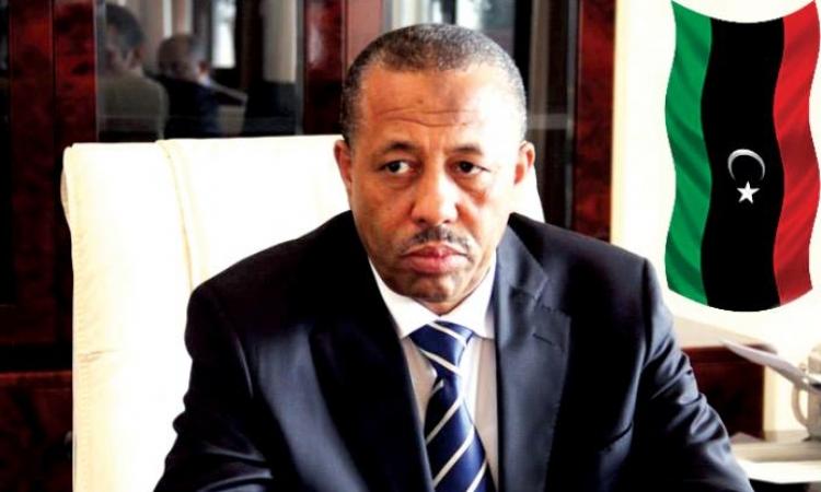 رئيس الحكومة الليبية: نحتاج إلى تحالف عربى لحل أزمة تسليح الجيش