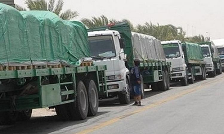 إطلاق سراح 60 شاحنة مصرية محتجزة بليبيا منذ 21 يومًا