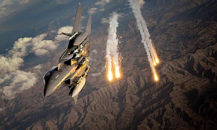 طائرات التحالف الدولي تقصف مواقع لداعش في دير الزور