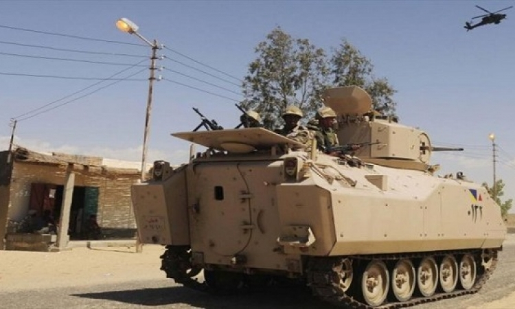 """بالفيديو .. قتل 98 ارهابيا فى خامس ايام عملية """" حق الشهيد """" بشمال سيناء"""