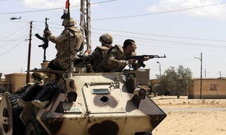 """الجيش: مقتل 21 من """"العناصر الإرهابية"""" إثر حملات أمنية موسعة بعدة محافظات"""