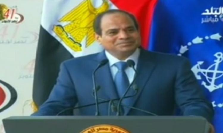 بالفيديو .. بأمر السيسي .. تحية عسكرية للشعب المصري