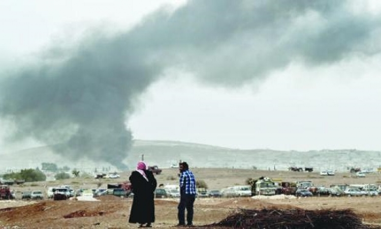 الأكراد يستعيدون السيطرة على معبر مرشد بينار