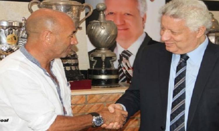 منصور : التعاقد مع باتشيكو لمدة موسم قابل للتجديد براتب شهرى 48 ألف دولار