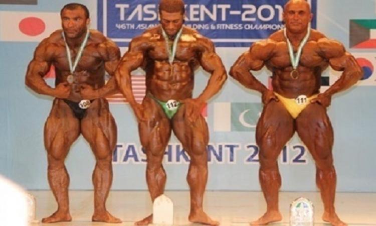 منتخب مصر لكمال الأجسام يفوز ببطولة العالم فى المكسيك