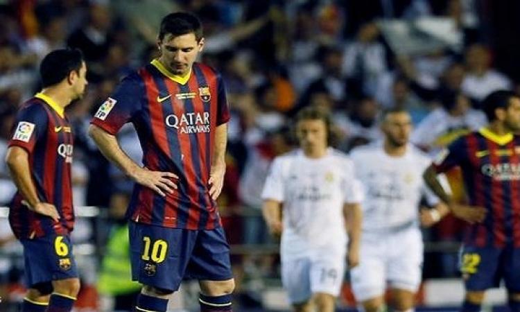 فيسبوك وتويتر يسخران من آداء لاعبي برشلونة غير المتوقع