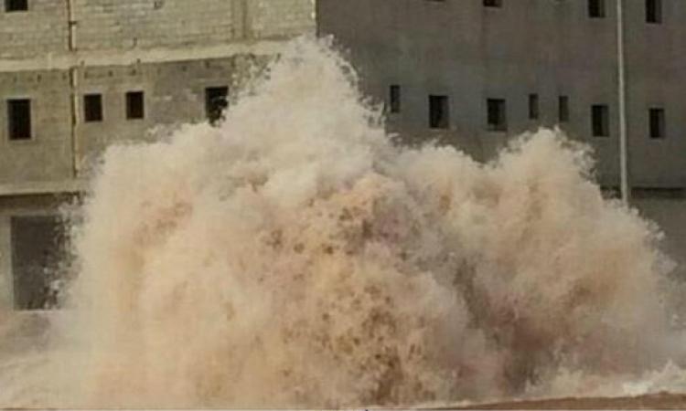 انفجار عبوة ناسفة في خط المياه بالعاشر من رمضان