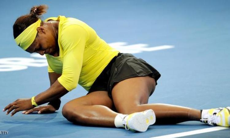 الاصابة تجبر سيرينا وليامز على الانسحاب من بطولة بكين الدولية