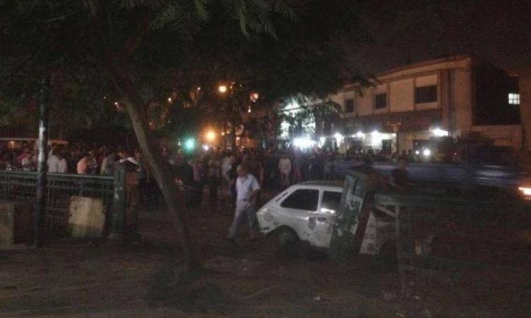 ارتفاع ضحايا انفجار دار القضاء العالي إلى 13 مصابا