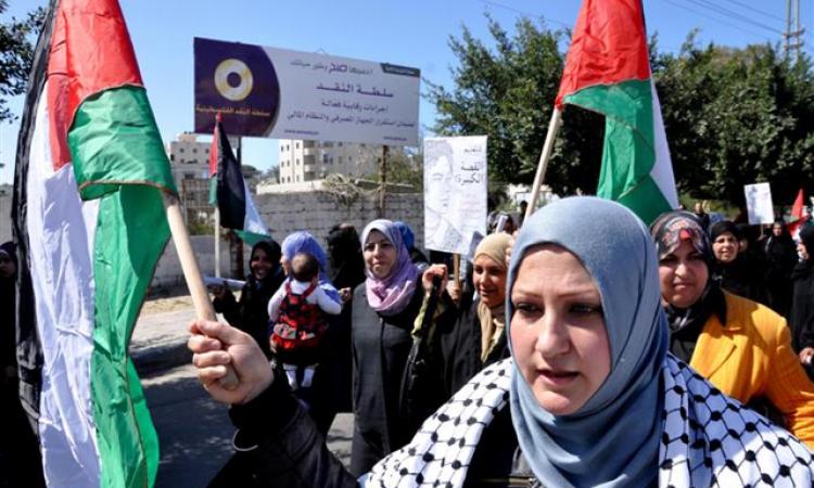 """إسرائيل تحاكم 7 فلسطينيات بتهمة إطلاق هتافات """"الله أكبر"""""""