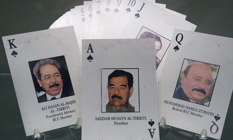 سر لعبة الكوتشينة التى نفذتها المخابرات الأمريكية للقبض على صدام وأبنائه