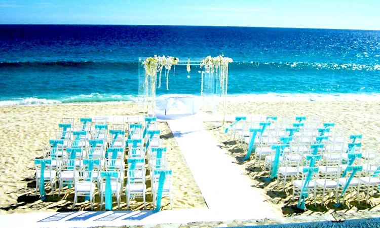 بالصور .. أجمل حفلات الزواج على الشاطئ