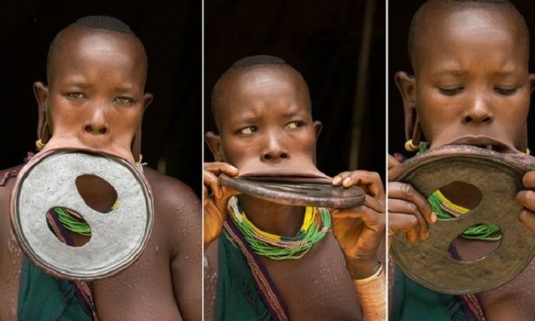 عشرينية إثيوبية باكبر فم في العالم