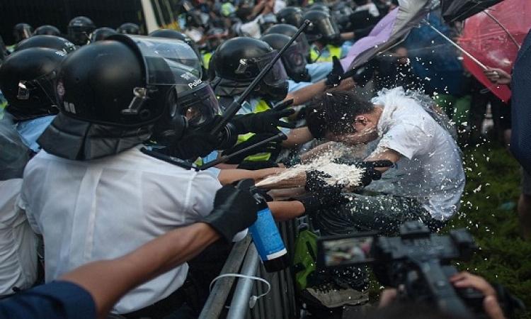هونج كونج تحذر من ضرر اقتصادي دائم إذا استمرت التظاهرات