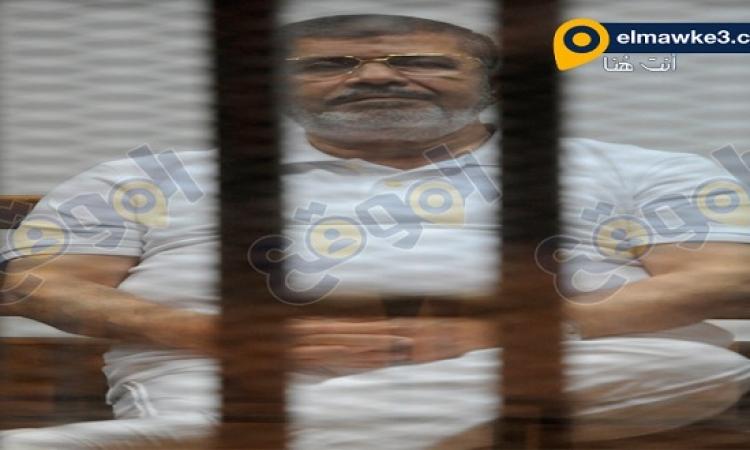 """صور .. جلسة محاكمة """"مرسى"""" و35 من قيادات الإخوان فى قضية """"التخابر"""" اليوم"""