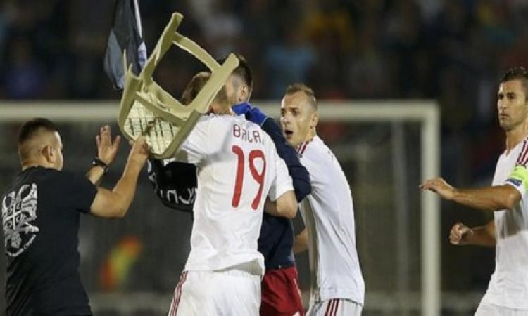 """توتر العلاقات بين صربيا وألبانيا بعد معركة """"الكراسي"""" في ستاد بارتيزان"""